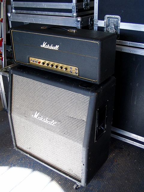 My '72 - 50 watt Large Box head and slant cab