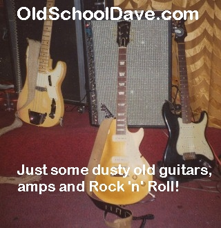 Just some dusty old guitars, amps & Rock 'n' Roll